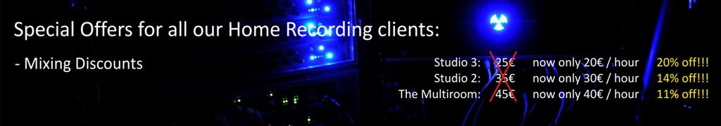 home recording offers